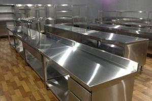 东莞厨房设备回收 回收不锈钢灶台 水池操作台回收 回收二手饭店设备
